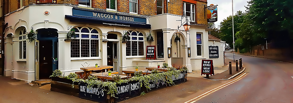 The Waggon And Horses Surbiton Good Good Good Drink And